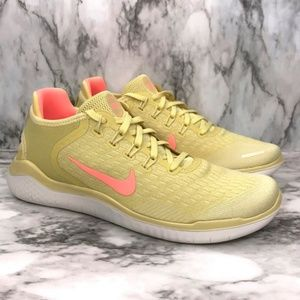 NEW Nike Free Run 2018 Summer Lemon Wash